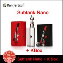 100% Original Kangertech Kbox 8-40W Box Mod with Kanger Subtank Nano Atomizer  3.0ML for Vaporizer E-cigarette China (MM)