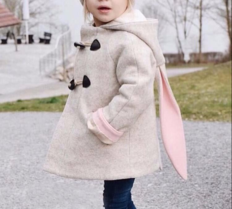 Скидки на Littlegoodall Кролик Точка Пальто Куртки С Малыш Мальчик Зима Теплое Пальто Для Детей Кролик Девушки Одежда Возврат Верхняя Одежда Cicis