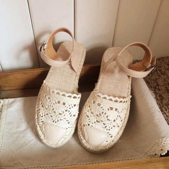 Горячий продавать, новый 2016 чистый ручной weave обувь, женщины кожа ретро искусства ...