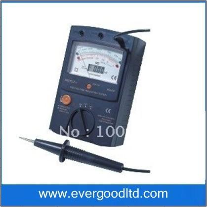 Wholesale & retail ,100000Mohm Digital Analog Insulation Tester MASTECH MS5202(China (Mainland))