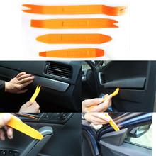 Nuevo 2015 4 unids coches puerta AUDIO PANEL CLIP DASH recortar AUTO REMOVAL RADIO herramienta de la palanca SET