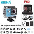 HIEHA 4K Wifi Action Camera F60 4K 30fps 1080P 60fps 720P 120fps 2 0 170D Helmet