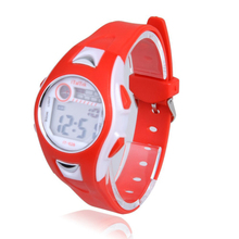 Excellent Quality New Brand 1PC Silicone Digital Sport Watches Waterproof LED Wrist Watches Kid Women Girl Men Boy for Gift