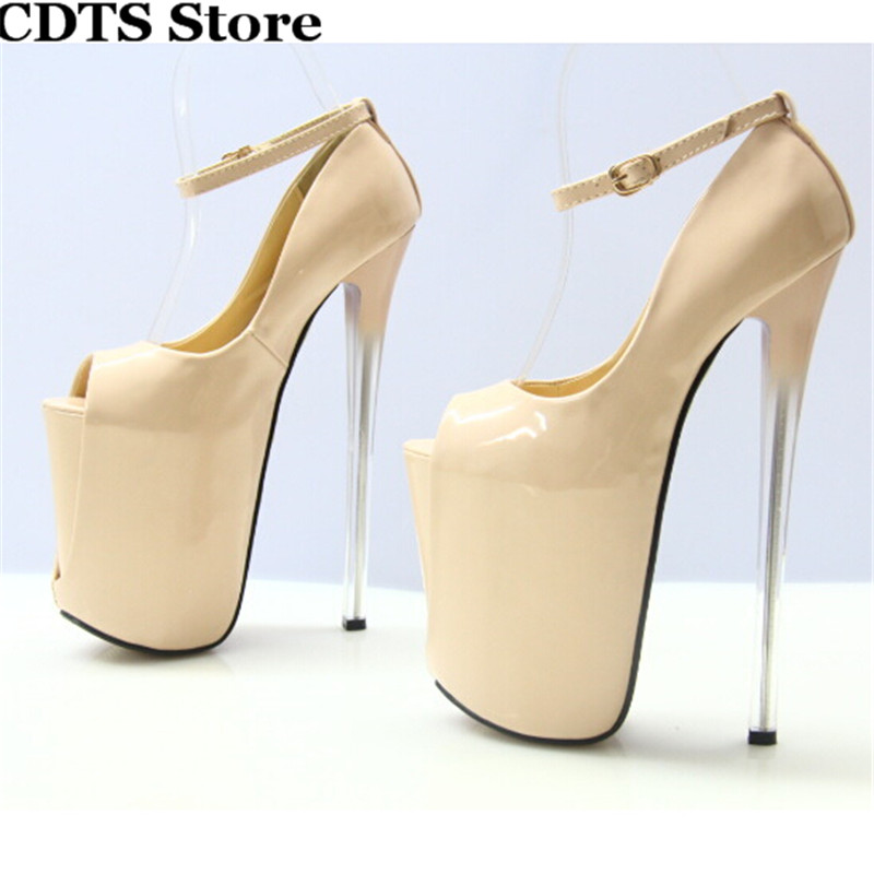 Red Peep Toe High Heels Promotion-Shop for Promotional Red Peep
