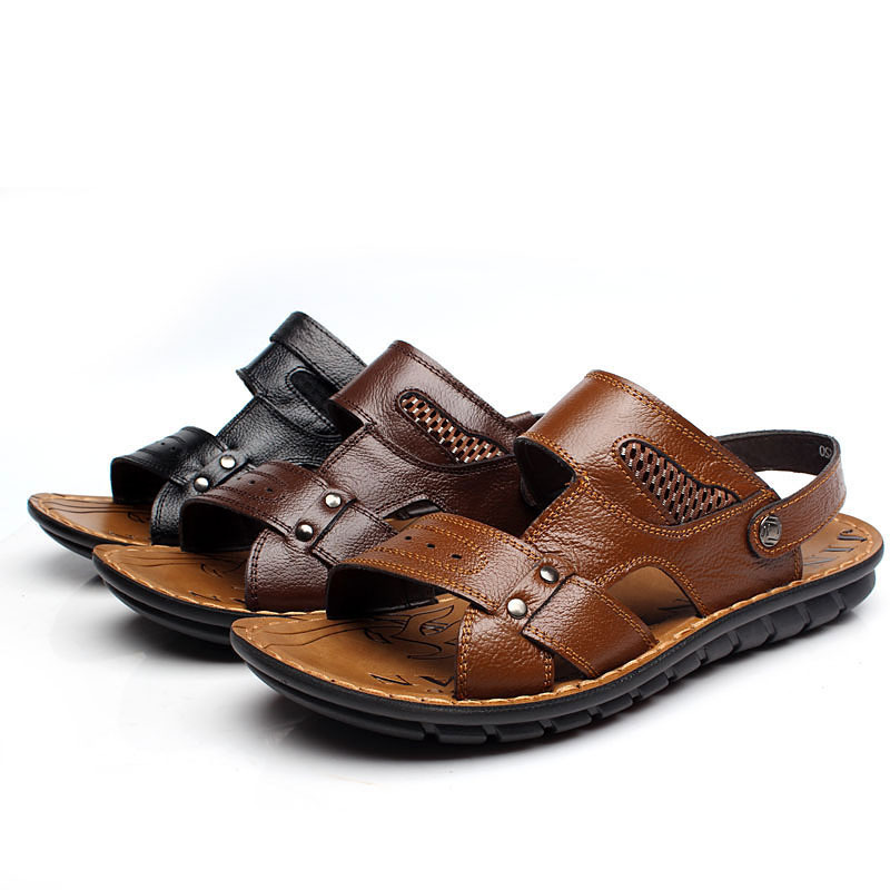 Factory direct sale To buy 2015 new men's shoes men and cool summer slippers sandals in the summer Beach shoes