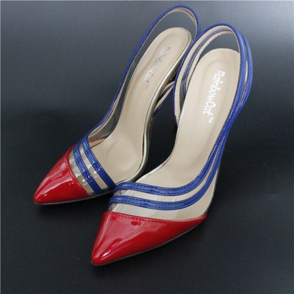 Size 4~9 Party High Heels Women Shoes 2016 Women Shoes Red Bottom Summer Women Pumps zapatos mujer
