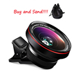 Universal stereo 3D mini effects lens for iPhone 6 6s Plus 5s 5 iPad/ Samsung/ Sony /HTC Smartphone Camera Lenses Phone Lente