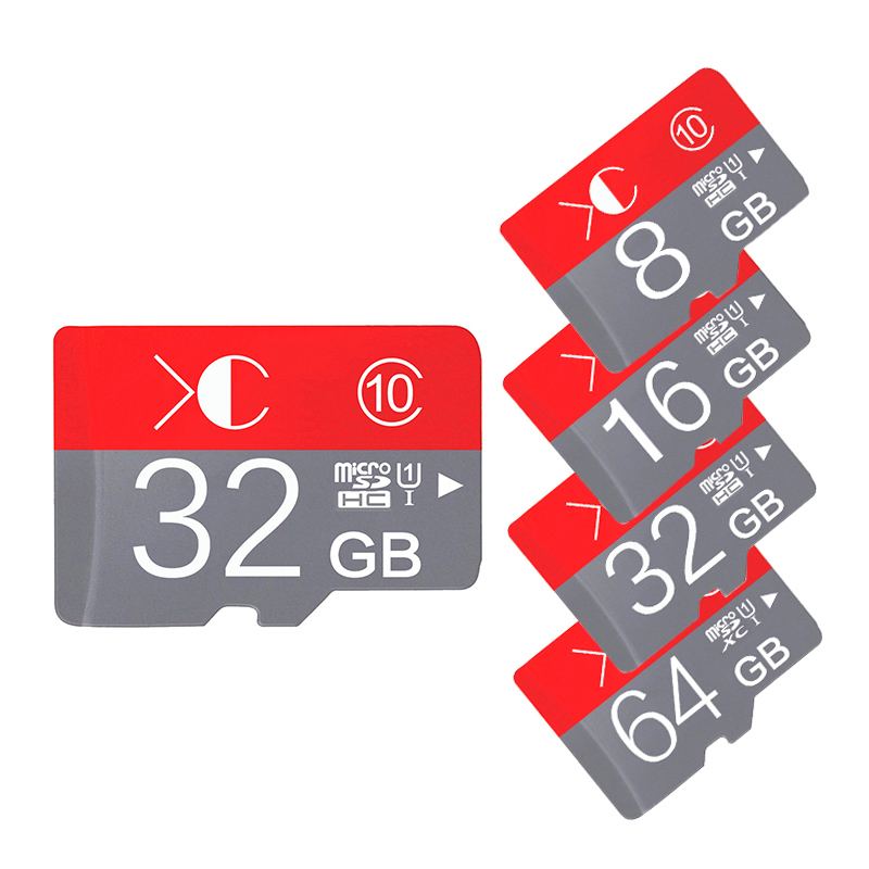 Red Micro sd card 16Gb class10 Memory card 4gb/8gb/16gb/32gb/64gb flash card micro SDHC/SDXC Microsd TF card 16gb free adapter(China (Mainland))