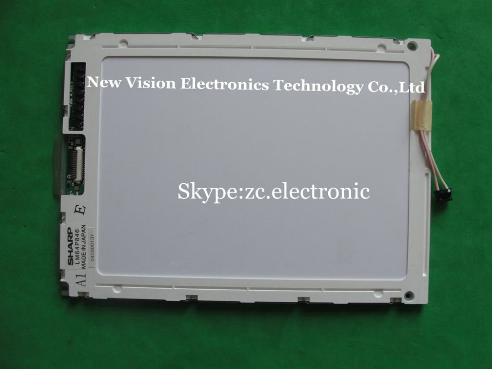 Original 9.4 inch LM64P846 Industrial LCD Panel by SHARP(China (Mainland))