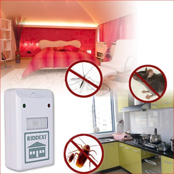 Promotions!! Riddex Pest Repeller Control Aid Killer Ant mosquito Repelling Plus Electronic Free Shipping