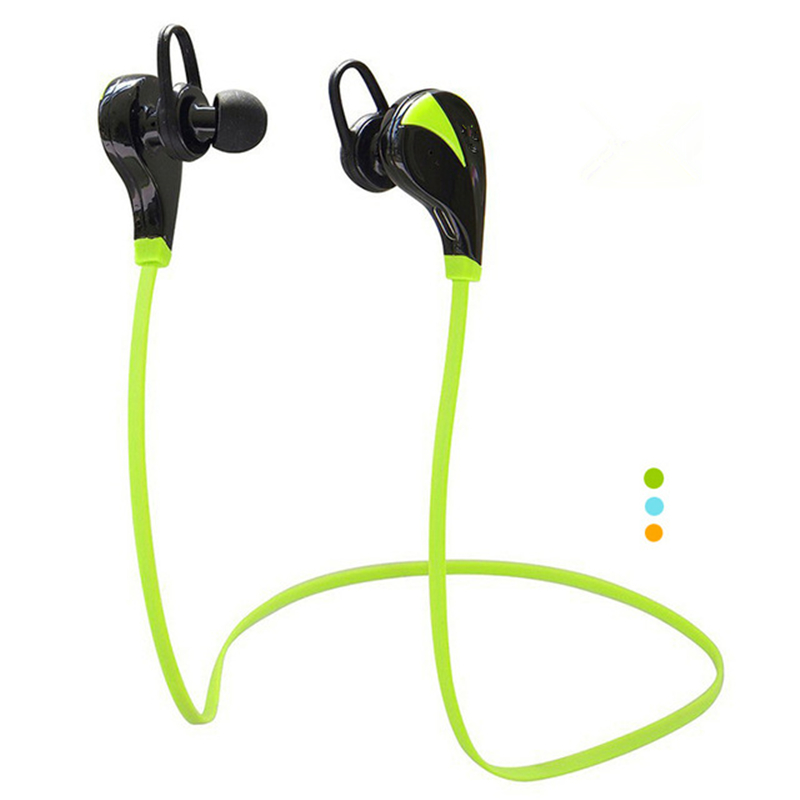 New Hot Earphone Wireless Sport Bluetooth Headset Stereo Earplugs with Microphone For All The Phone(China (Mainland))
