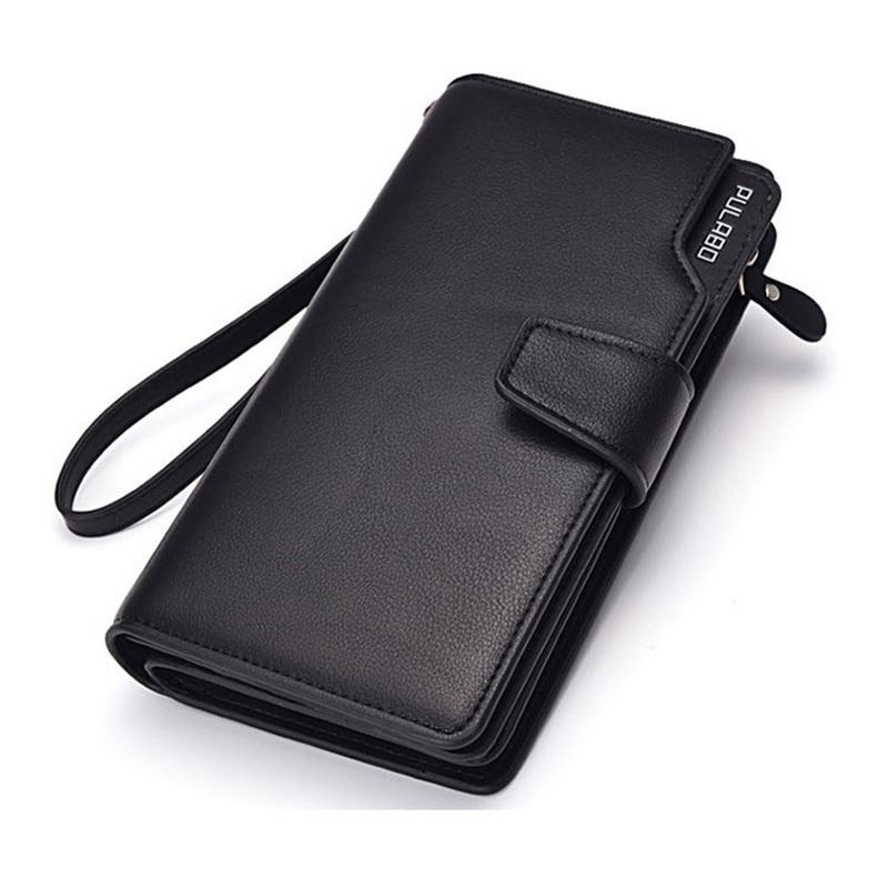 Гаджет  Mens hasp wallet zipper pocket male clutch multifunction genuine leather wallets long cellphone bag big capacity free shipping None Камера и Сумки