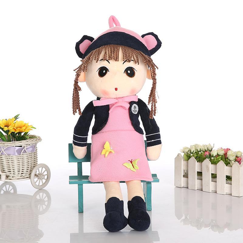 New Arrival 40cm Kawaii Angela Stuffed Plush Doll Kids Soft Girl Toys Bonecas Dolls(China (Mainland))