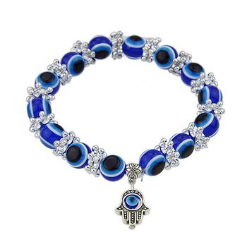 Минимальный заказ $ 5 рук украшения синий цвет прядь браслеты Pulseiras для женщин ...