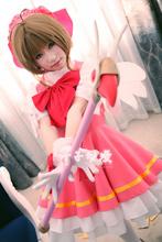 Card Captor Sakura costume cosplay for girls princess maid lolita dress Kawaii Christmas dress high quality free shipping