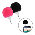 Honxina Mini Cute Portable Sponge Ball Music Speaker Black Red for Cell Phone Tablets For Phone
