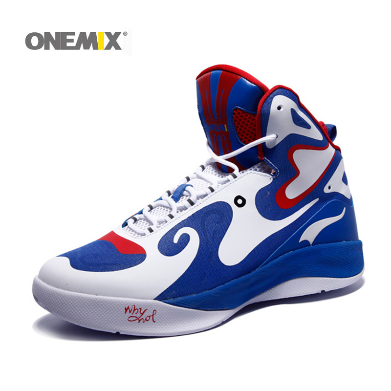 2016 Onemix new arrival mens basketball shoesTop Quality fashion runing shoes athletic sport sneakers basketball free shipping