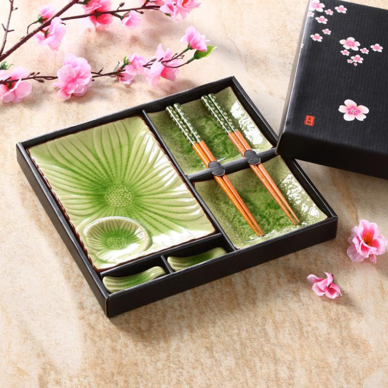 popular sushi plate set buy cheap sushi plate set lots from china sushi plate set suppliers on. Black Bedroom Furniture Sets. Home Design Ideas