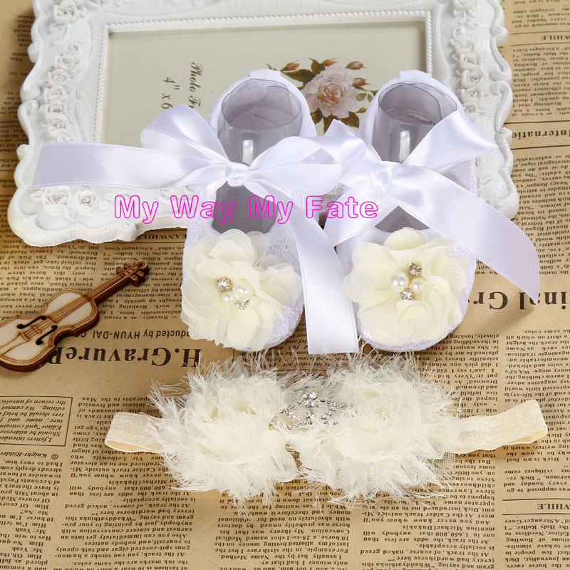 Baby Girl satin lace toddler shoe Christening shoes for baby girl,soft sole baby slippers,baby ballerina(China (Mainland))