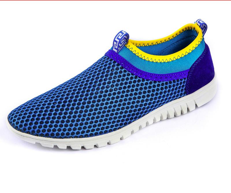 2016 Men Casual Shoes Clearance Low Beach Fashion Cellular Dress Breathable Full Grain Leather Medium(b,m) Men Shoes Wholesale<br><br>Aliexpress