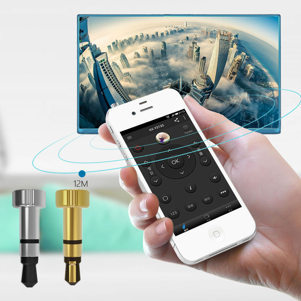 1pcs Silver for iphone/ipad/Touch Portable Mini Pocket for IOS Mobile Phone For Air Conditioner TV(China (Mainland))