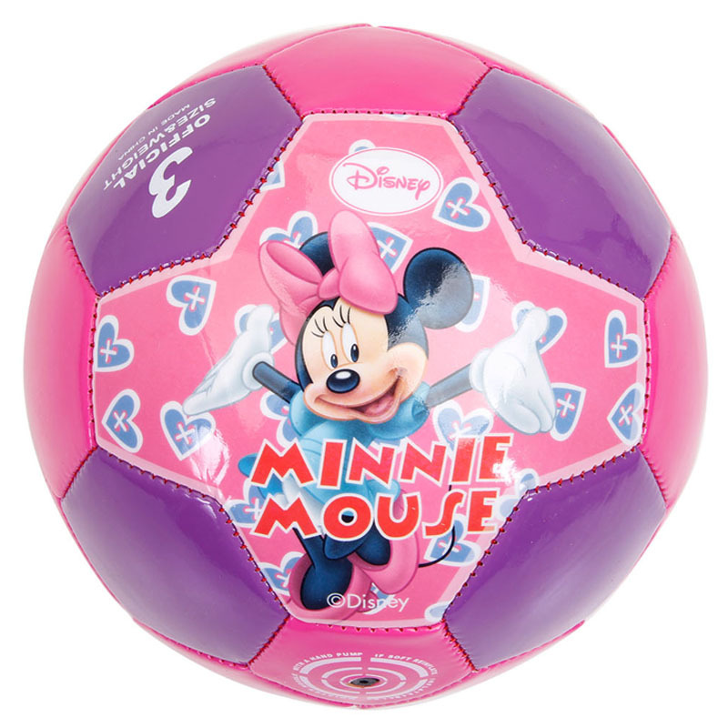 Mesuca Sports Disney Girls Outdoors Sports Goods 3# PVC Soccer Ball DAB20242-B(China (Mainland))