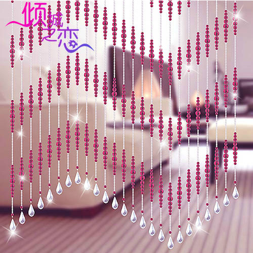 Buy 1 meter glass crystal beads curtain - Hanging beads for doorways ...