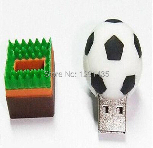 Mini basketball football golf ball tennis ball baseball usb flash drive 8GB 16GB 32GB 64GB 128GB decoration souvenir(China (Mainland))
