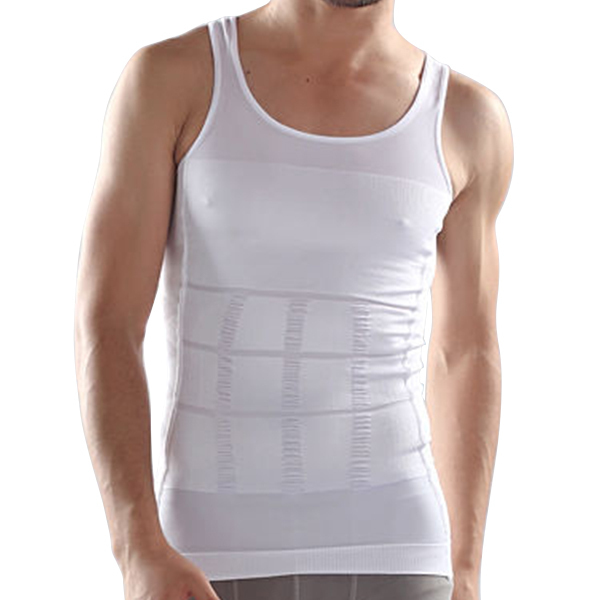 ... Tummy Belly Buster Control Slimming Body Shaper Vest Underwear Shirt