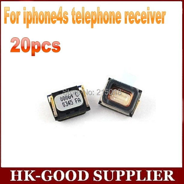 20pcs wholesale ear receiver Speaker For iphone4s telephone receiver freeshipping