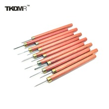 TD New 1Graver Burin Carving Knife Olive Nuclear Stainless Steel Tools Set Wood - TV&Laptop LED/LCD Shop store