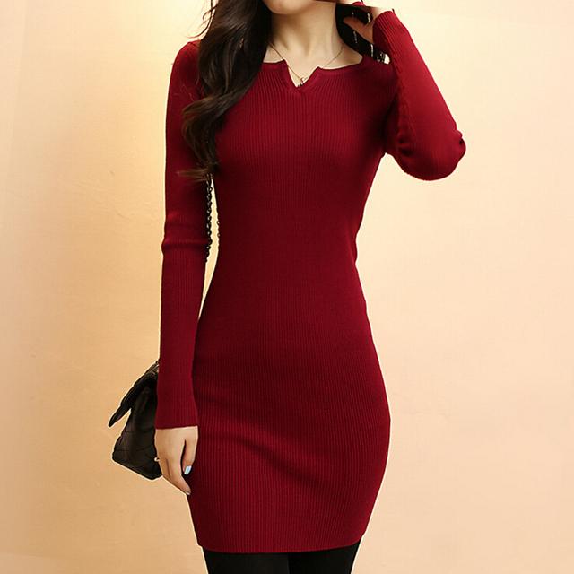 Brand Длинный свитерs 2015 Autumn Winter Женщины Модный Pullovers Jumper Fall Sexy ...