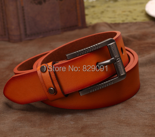classic fashion men's belt male strap faux leather alloy buckle gifts ABNN0089