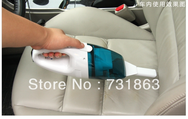 car vacuum cleaner handheld vacuum cleaner 12v car accessories cleaner car mini vacuum cleaners 60w cheap free shipping(China (Mainland))