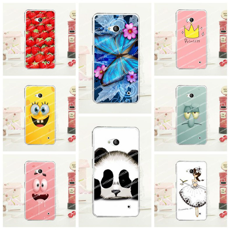 2016 Crown Newest Fashion Painting High Quality Hard Phone case For Microsoft Nokia Lumia 640 back cover For Nokia 640+Free pen(China (Mainland))