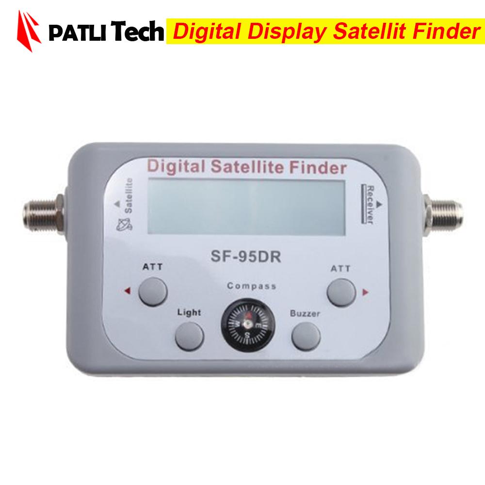 digital displaying satellite finder sf 95dr meter tv signal finder sf95dr sat decoder satlink. Black Bedroom Furniture Sets. Home Design Ideas