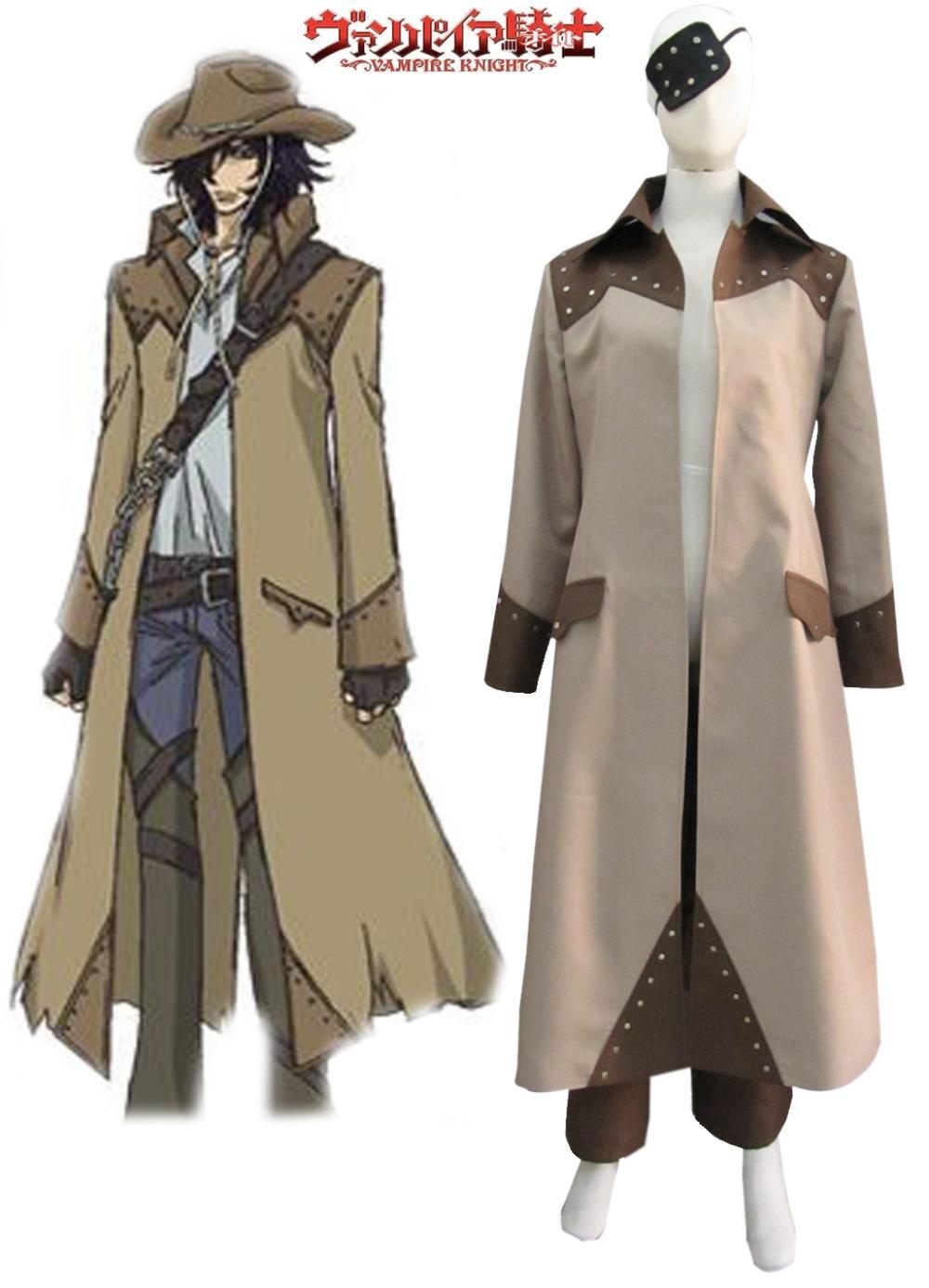 Vampire Knight Vampire Hunter Toga Yagari Overcoat Anime Cosplay Costumes Halloween Costume C0054(China (Mainland))