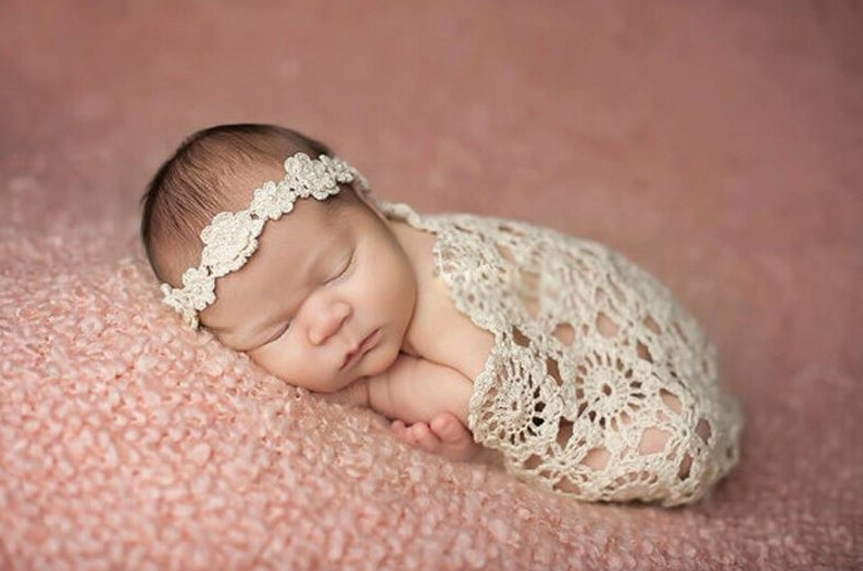 Crochet Patterns For Baby Washcloths : Crochet Baby Blankets Newborn Photography Props,Rosette ...