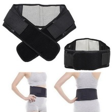New Arrival Self-heating Tourmaline Magnetic Belt Lumbar Support Brace Double Banded Adjustable Pad