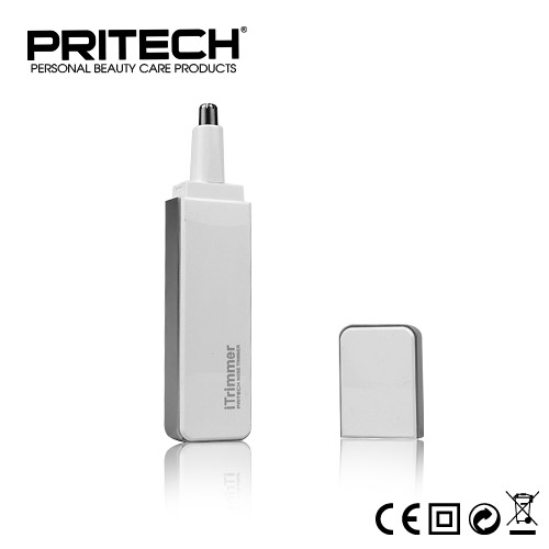 Pritech Best Quality Professional Nose Ear Hair Trimmer For Men Family Face Care Styling Tools Black White Color(China (Mainland))