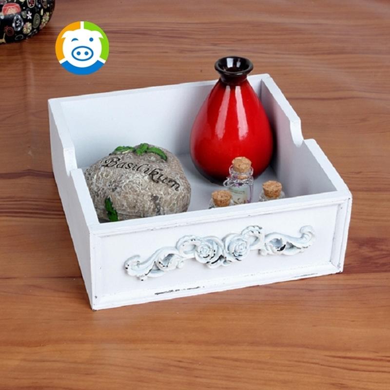 Zakka grocery retro storage box carved desktop cosmetics for Where to buy cheap household items