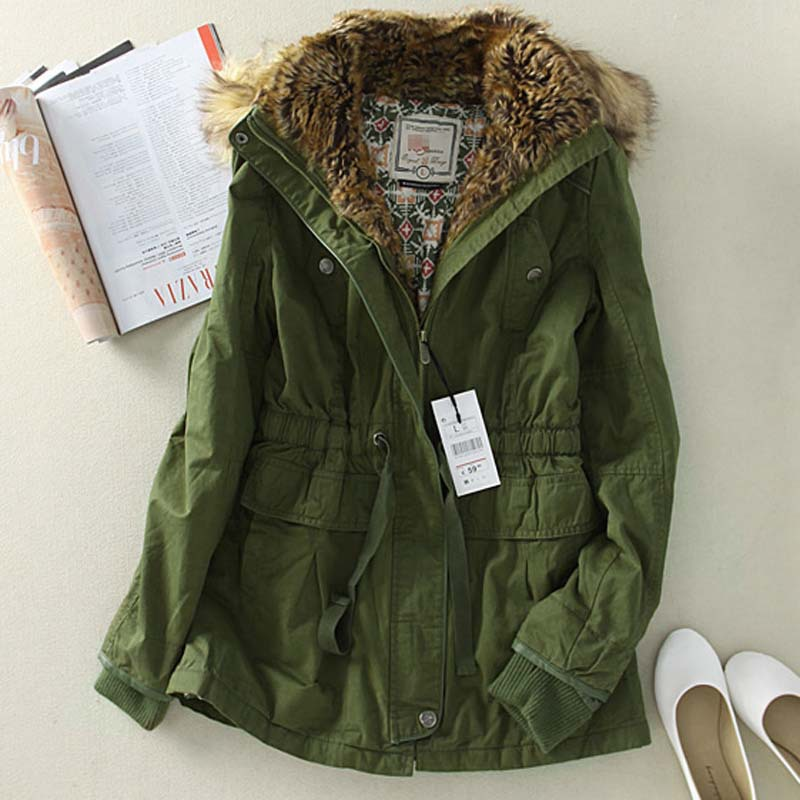 Army Green Jacket for Women