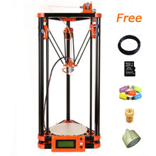 FDM desktop Type China abs 3d printer with 8GB SD card LCD 40m Filament for Free