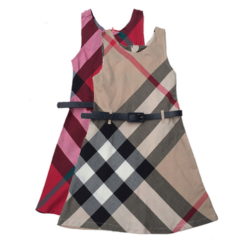 Casual kids clothes cotton girl dress high quality children clothing england style costumes hot sale girls clothes 2016 new(China (Mainland))
