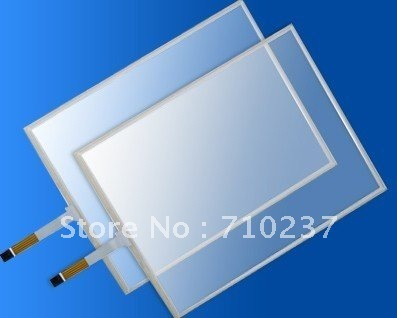 """17"""" 5 wire Resistive touch screen panel 16  : 10  free shipping cost"""