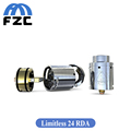 TopAirflow Original IJOY Limitless 24 RDA Adjustable Airflow Rebuildable Dripping Atomizer 2 Post Gold Plated Build