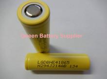 4pcs/lot Free shipping to Russia LG 18650he4 3.6V 2500mAh 30A  high drain LG HE4 /lg 18650 he4 batterycigarette power tools