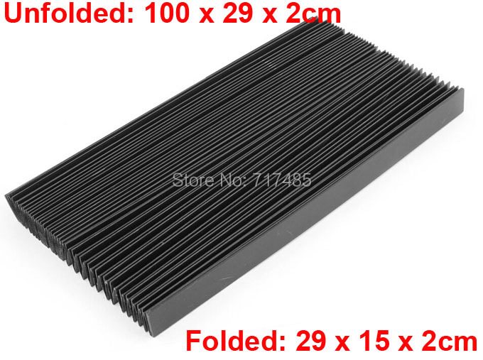 """Flexible Organ Shaped 39.3"""" Long Plastic Dust Cover for CNC Machine(China (Mainland))"""