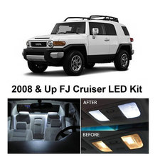 Xenon White Package Kit LED Interior Lights Toyota FJ Cruiser 2008 & - Idea Led store