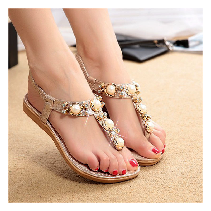 Elegant Women Sandals 2016 Summer Shoes Woman Fashion Square Heels Pumps